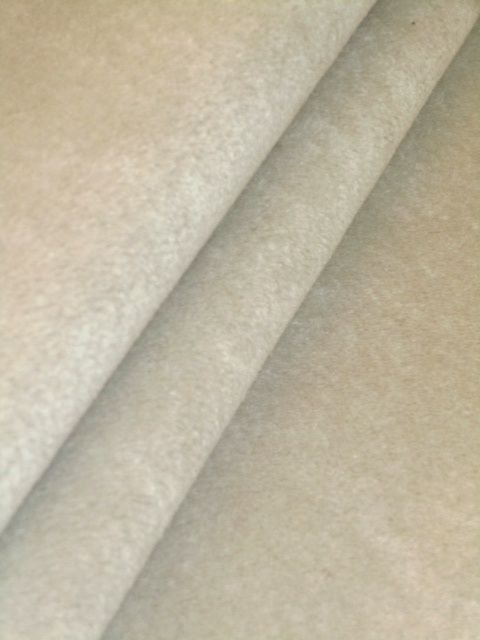 Wool Velvet Second Color Ecru Upholstery Fabric From Our