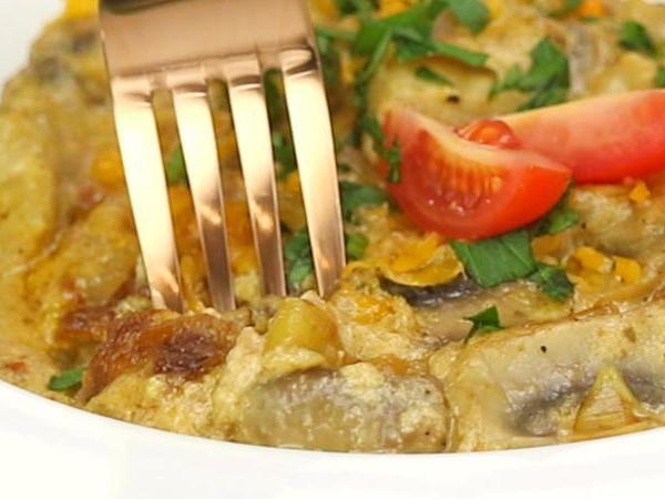 Schnitzelpfanne #recipeforchickenfajitas