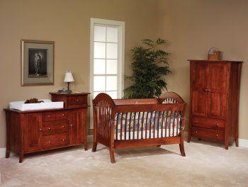 Manhattan Crib Setting Country Lane Furniture Nursery Furniture Sets Contemporary Bedroom Furniture Baby Furniture Sets