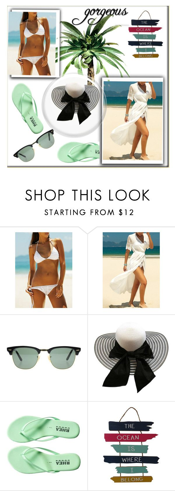 """""""Bez naslova #9"""" by lili-876 ❤ liked on Polyvore featuring Ray-Ban"""