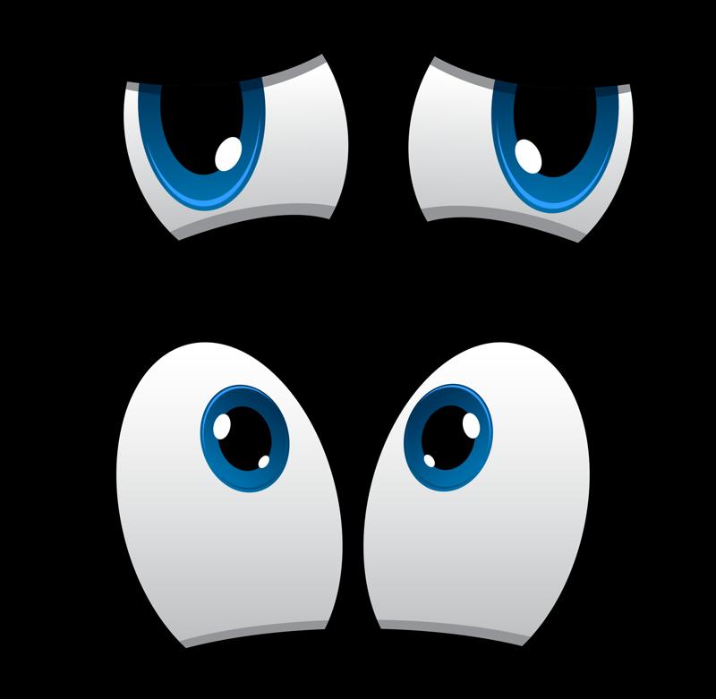 Как нарисовать смешные глаза картинки, рожи