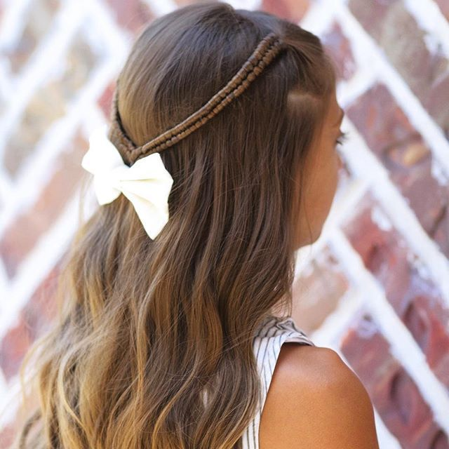 Cute Girls Hairstyles: Pull-Through Braid