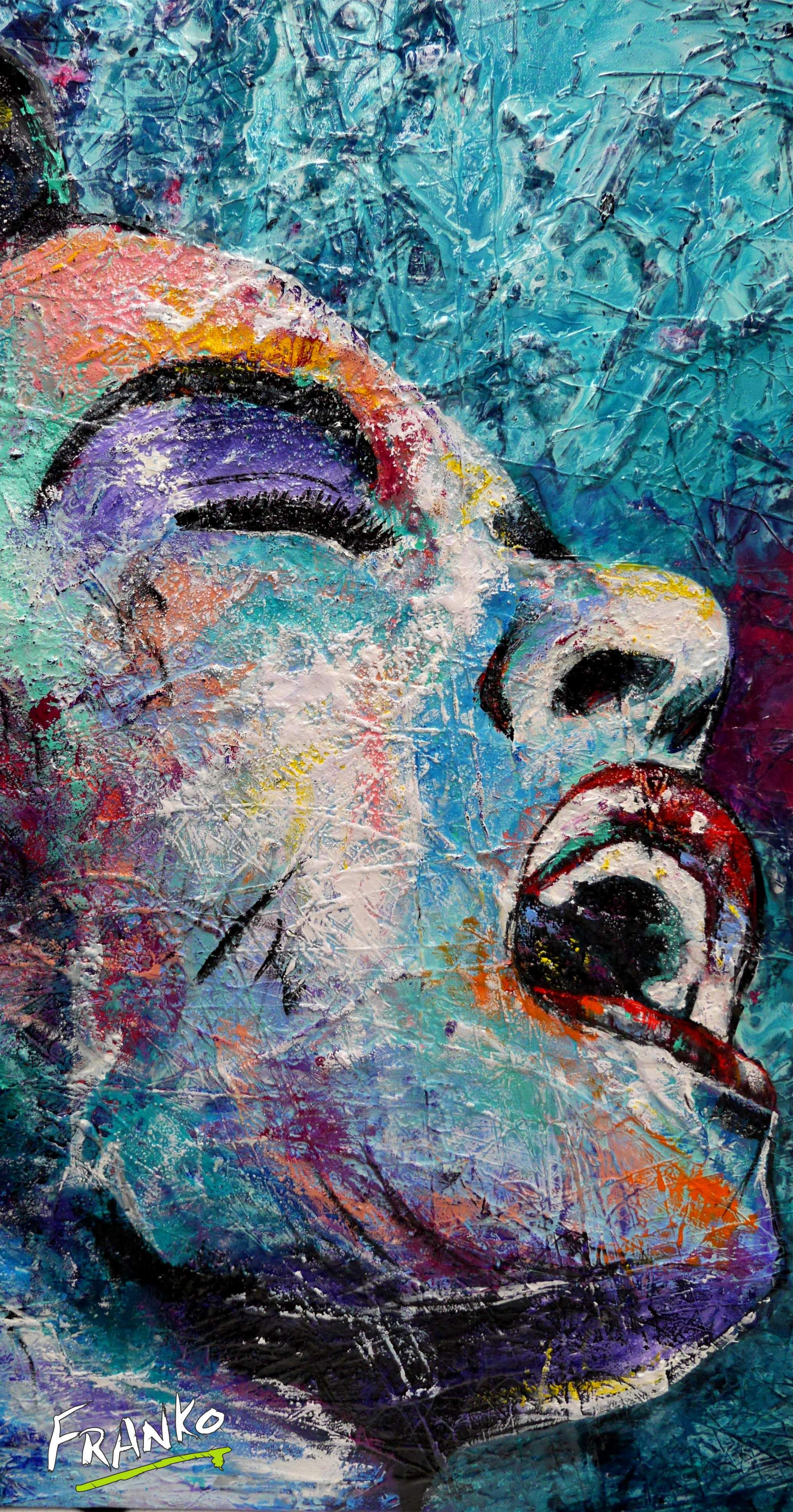 "Abstract Paintings Realism And Urban Pop Art ""in"