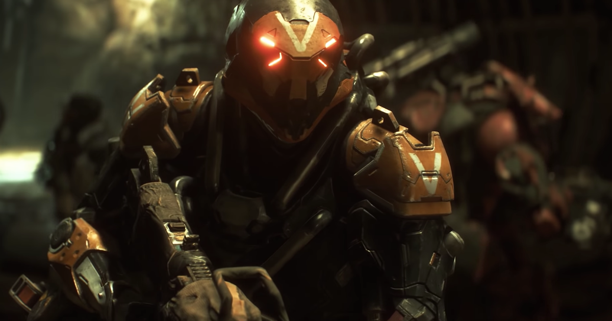 Anthem S First Live Gameplay Trailer Watch Anthem