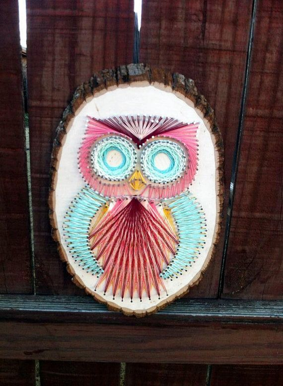Owl String Art on ETSY