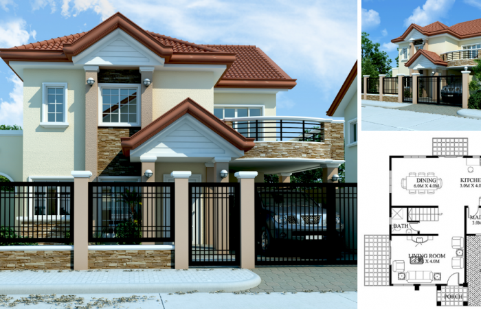 One Storey Bungalow House With 3 Bedrooms Pinoy Eplans Affordable House Plans Model House Plan My House Plans