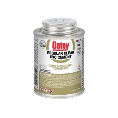 Oatey 8 Oz Pvc Cement 310133 Shower Pan Liner Pvc Joints Cement