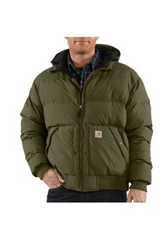 Carhartt Mens Down Kalkaska Active Army Green Jacket | Buy Now at camouflage.ca