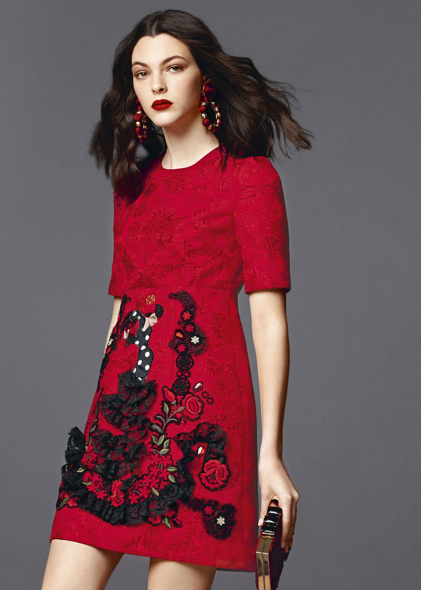 a29508120 Dolce & Gabbana Women's Clothing Collection Summer 2015 Short Sleeve  Dresses, Dresses With Sleeves