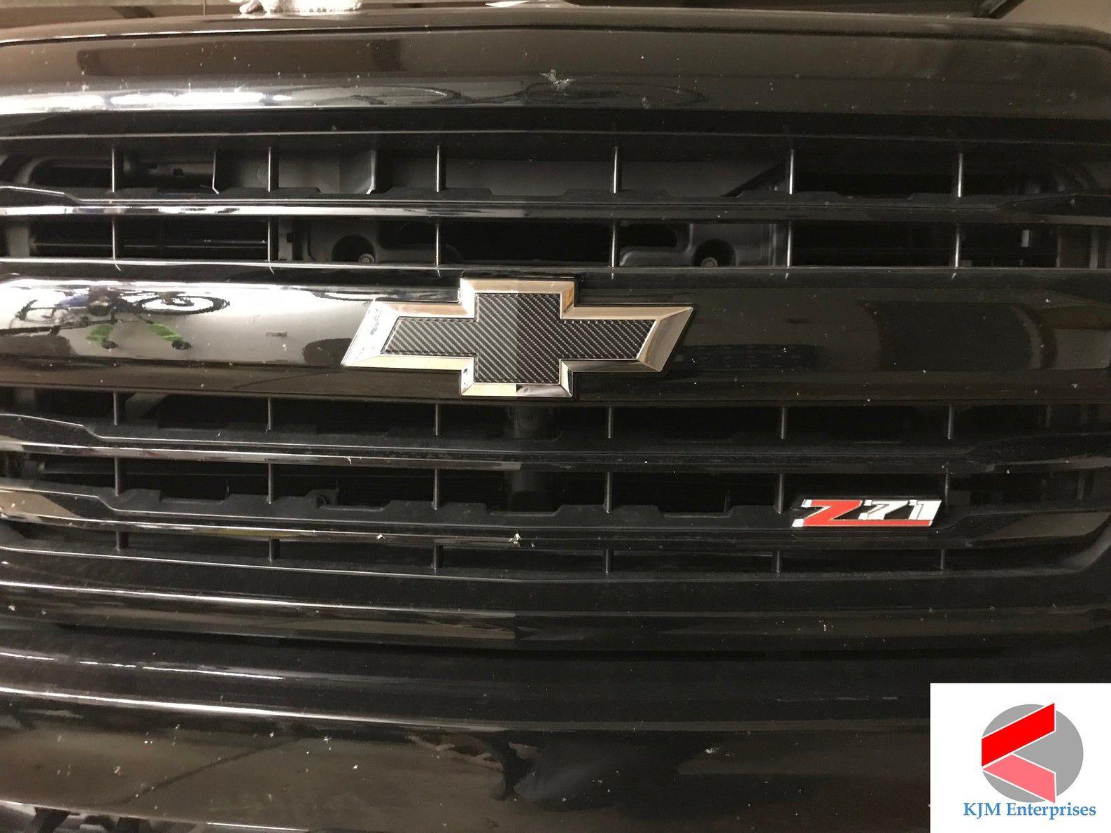 20072013 Silverado Chevy Emblem Overlay Bowtie Decals