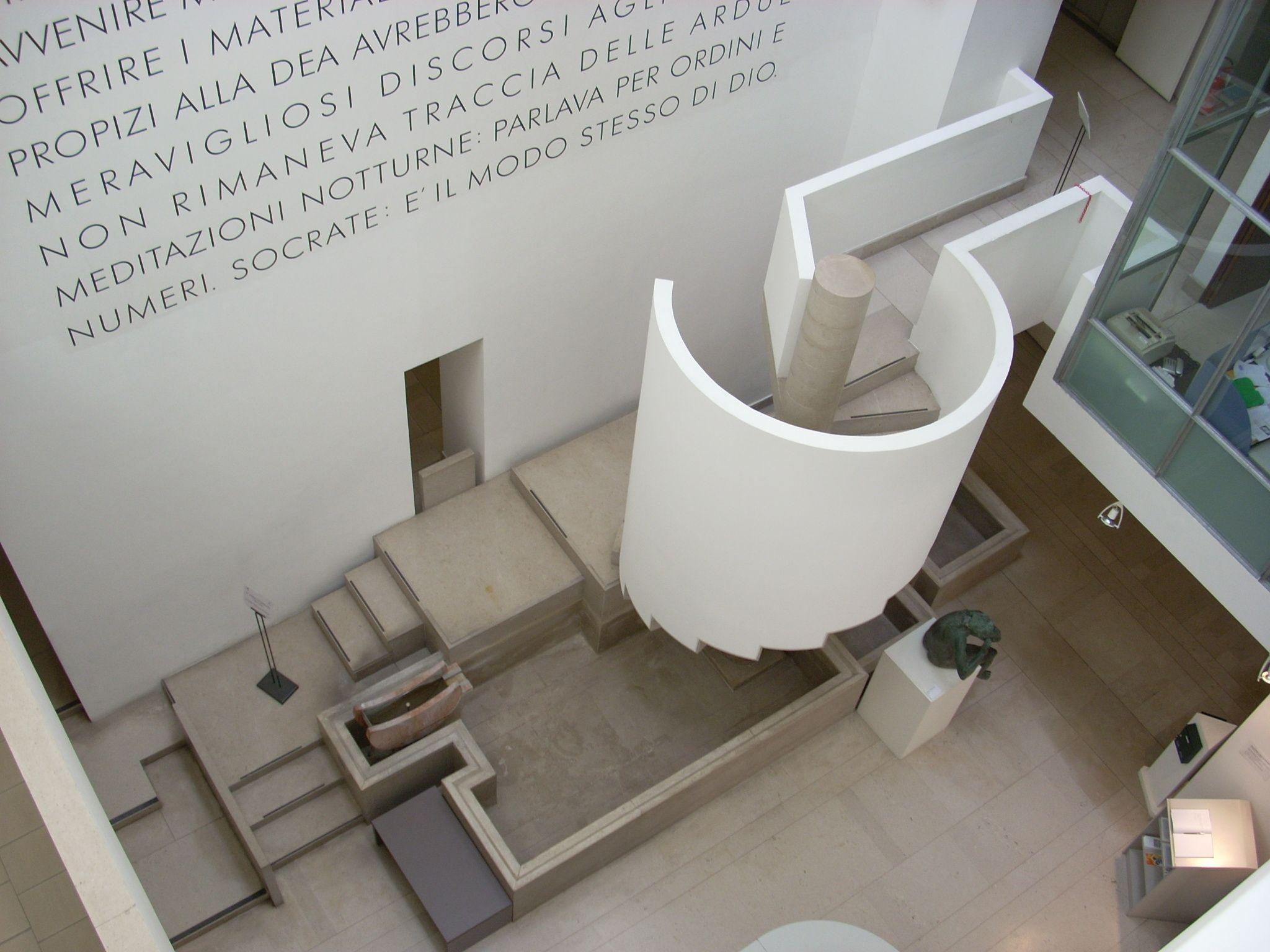 Carlo Scarpa The Museo Revoltella In Trieste Italy