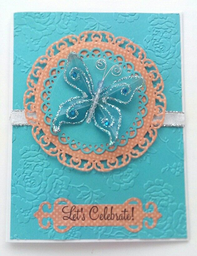 Birthday Card / Handcrafted By Cindy Babich 2014