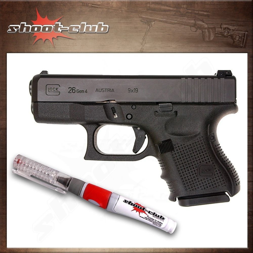 "Glock 26 Gen 4 Pistole im Kal. 9mm Luger - ""Baby"" Glock"