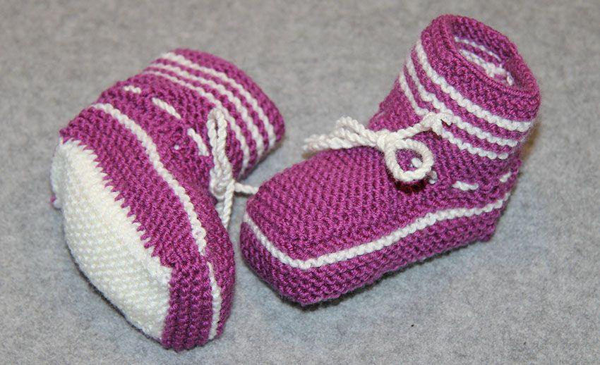 Babyschuhe stricken   Babyschuhe, Stricken und Babyschuhe