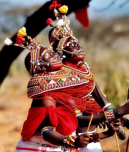 BEAUTY OF THE AFRICA - African Peoples, Colors and