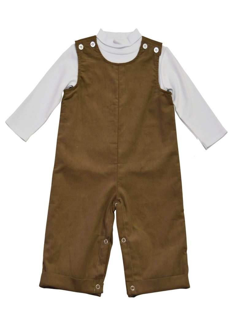 Boy's Longall - Brown Corduroy