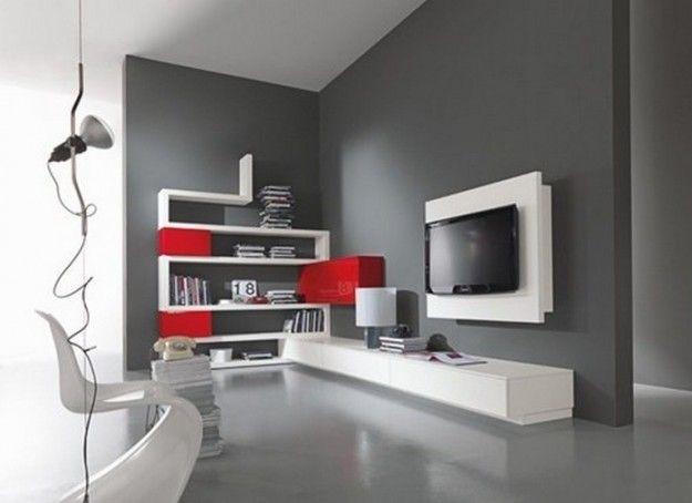 Pavimento Grigio Antracite : Abbinare pareti e pavimento home living room room