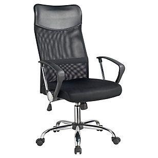Asenti silla para pc 122x54 cm negro sillas para pc for Sillas comodas para pc