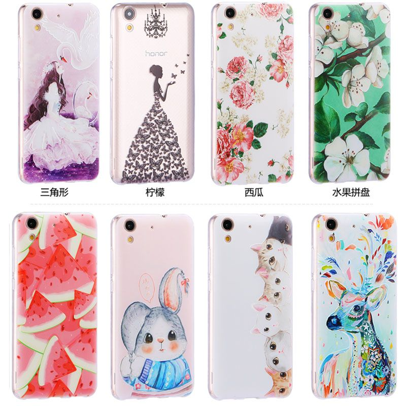 Click to Buy << 3D Soft Back Case Cover Huawei y6II Case Cover,22 ...