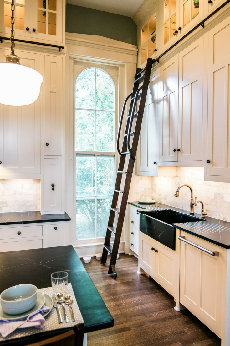 Kitchen Remodel In The Fixer Upper Historic Mansion
