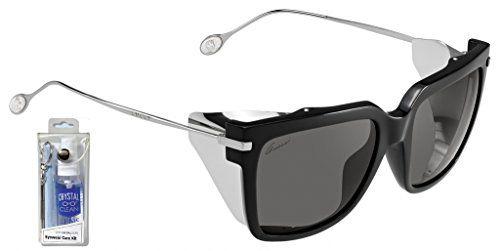 3fa415ca662f Gucci 3738 S 0CVS Y1 Black Ruthenium Gray Sunglasses Bundle-2 Items Gucci