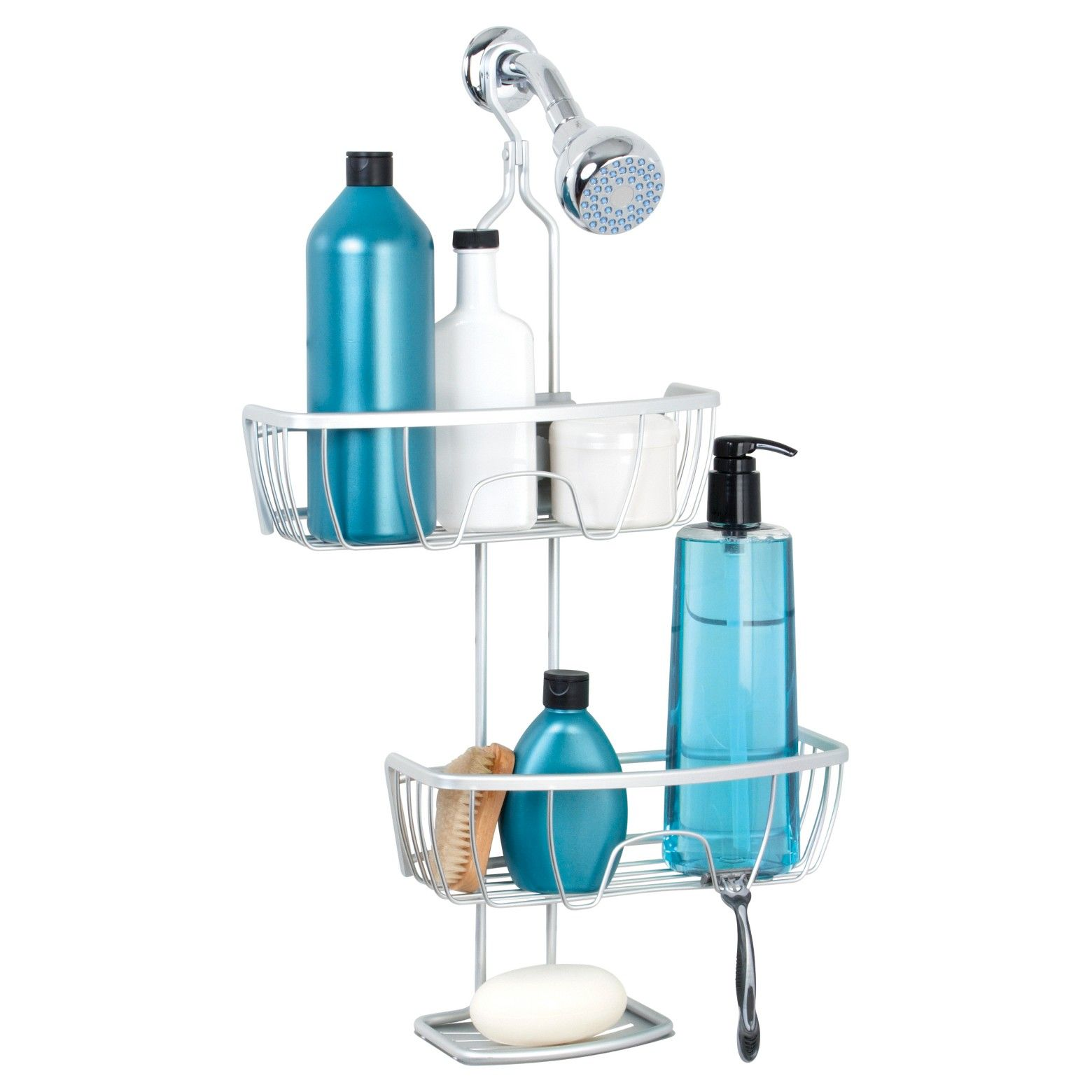 Shower Caddy - Satin Chrome - Zenna Home®