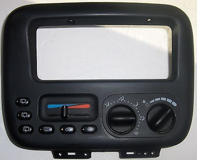 awesome 4677915 BLACK PLUG HEATER CONTROL WO FRONT & REAR