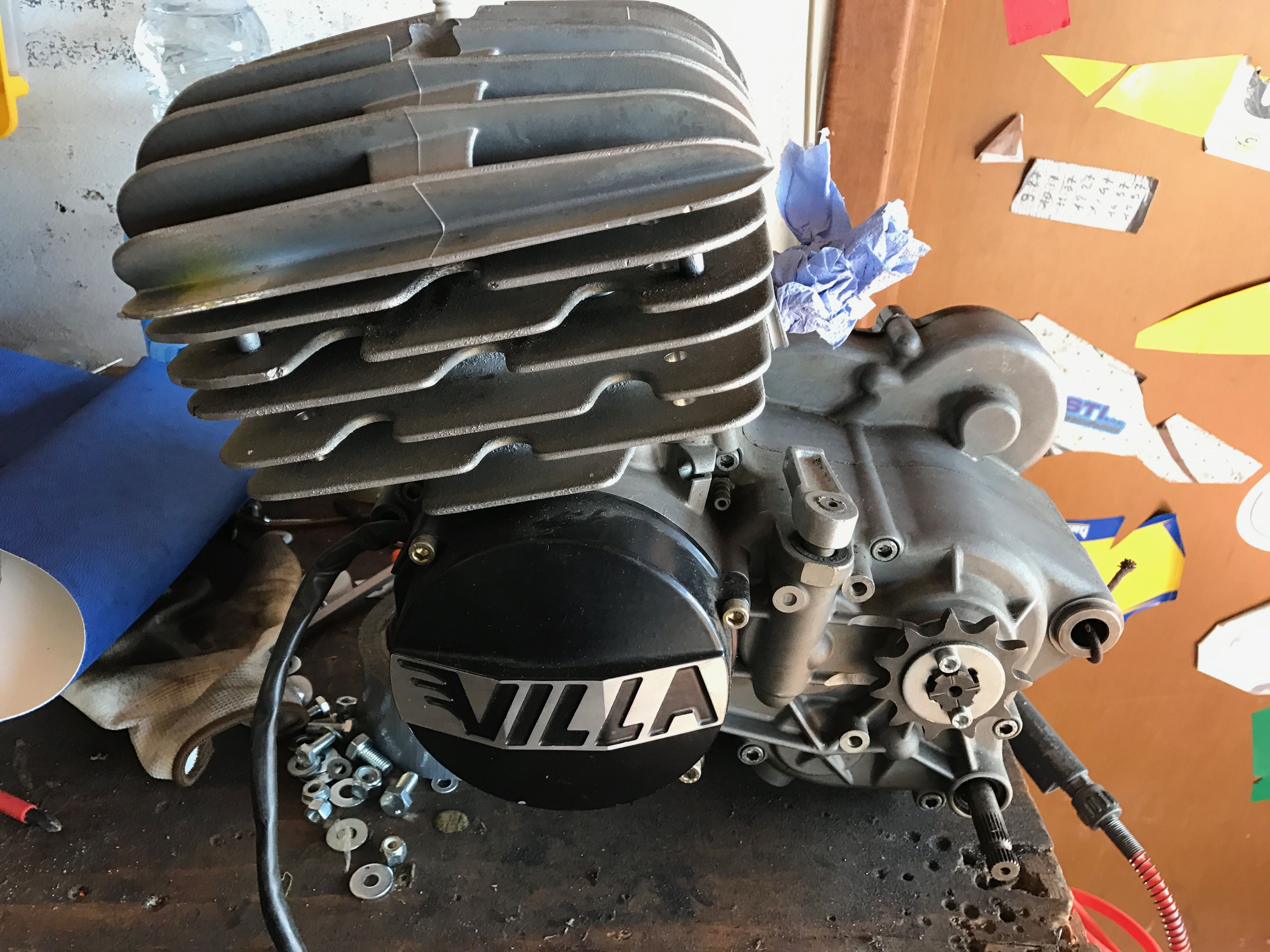 Motore Villa 125 Ml Aspirato
