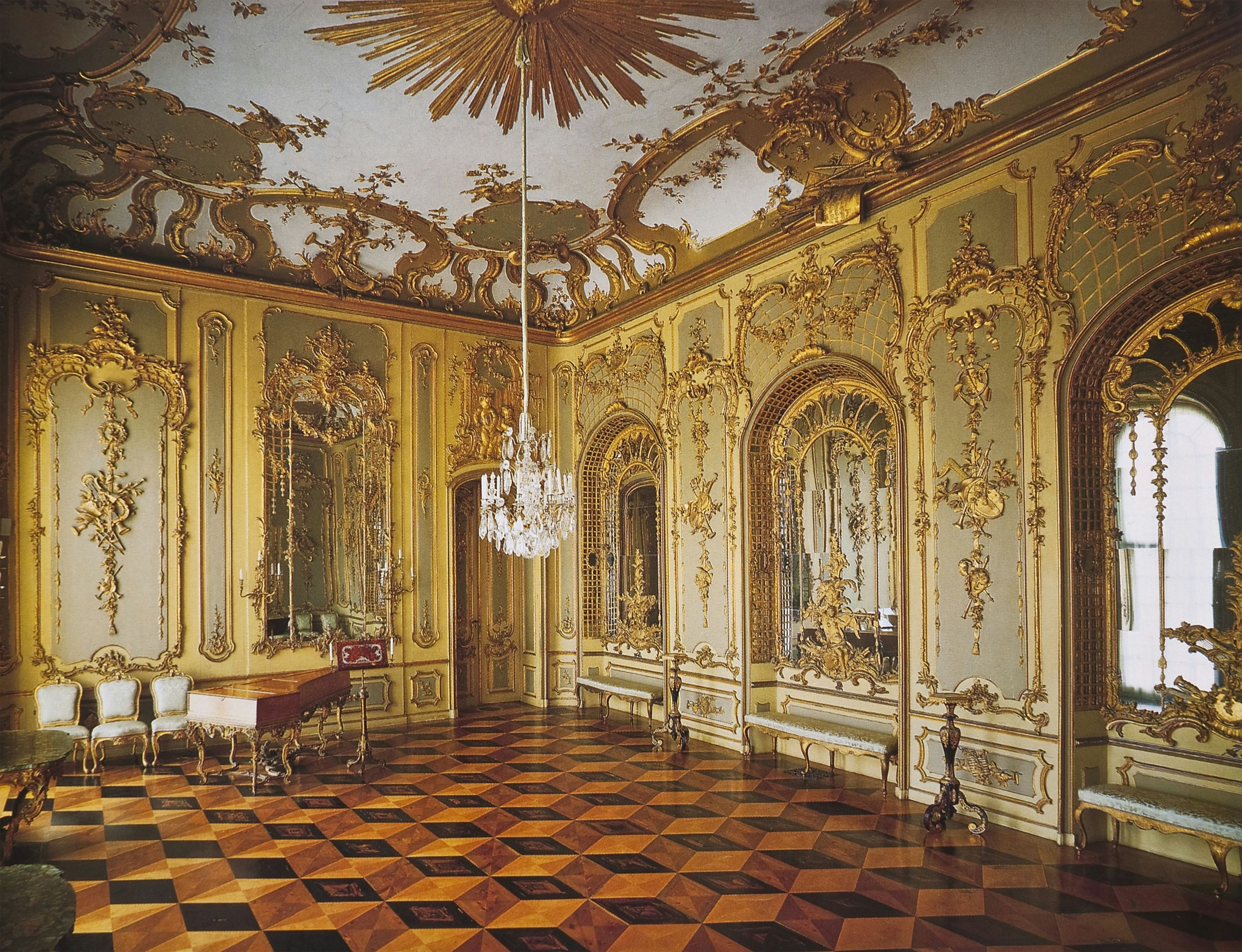 sanssouci palace interior potsdam sanssouci or palace or. Black Bedroom Furniture Sets. Home Design Ideas