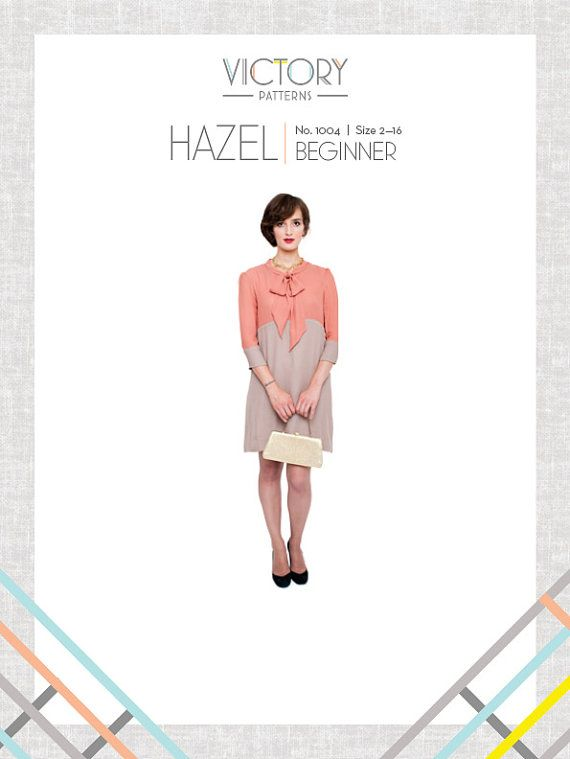 Hazel PDF Sewing Pattern | Crafts | Pinterest | Costura, Patrones y ...