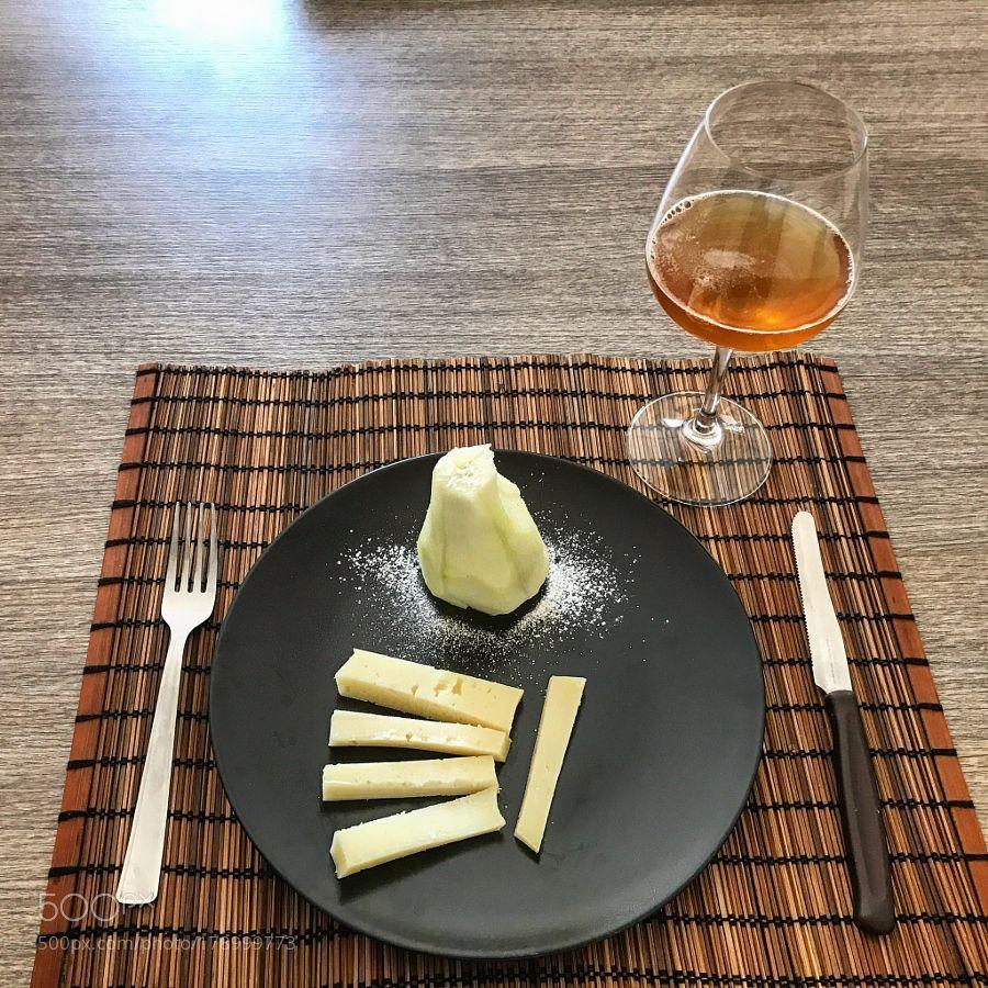 Pecorino e pera by SaraSalvatore #food #yummy #foodie #delicious #photooftheday #amazing #picoftheday