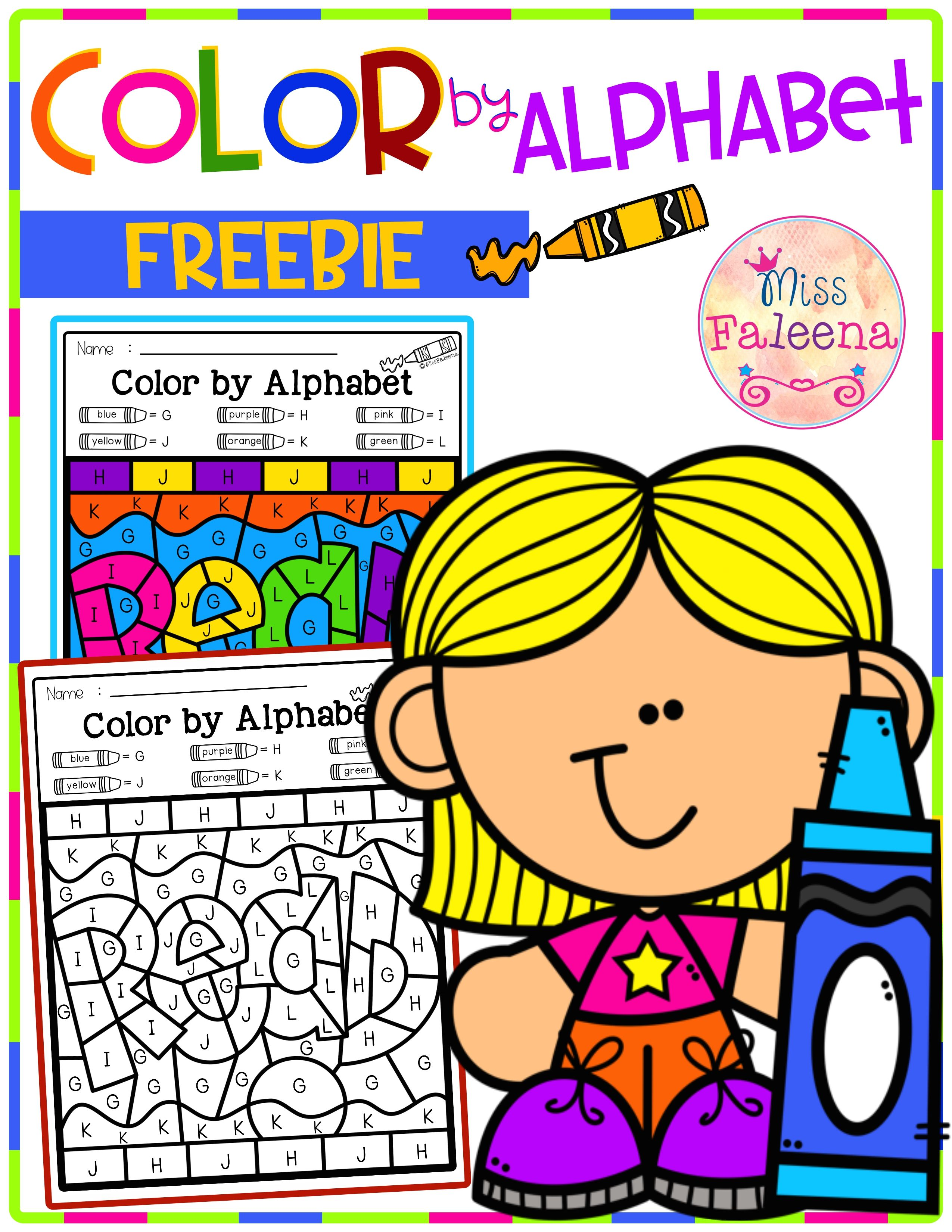 Free Color By Code