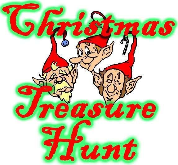 Christmas Gift Scavenger Hunt Riddles: Christmas Treasure Hunt