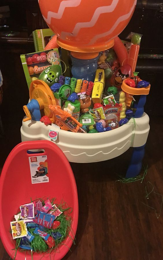 Easter Basket Ideas For Boys In 2020 Creative Easter Baskets Boys Easter Basket Easter Baskets For Toddlers
