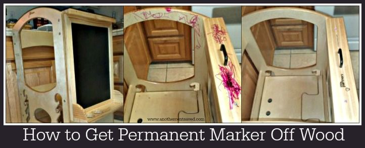how to get permanent marker off wood the pretty pintastic party