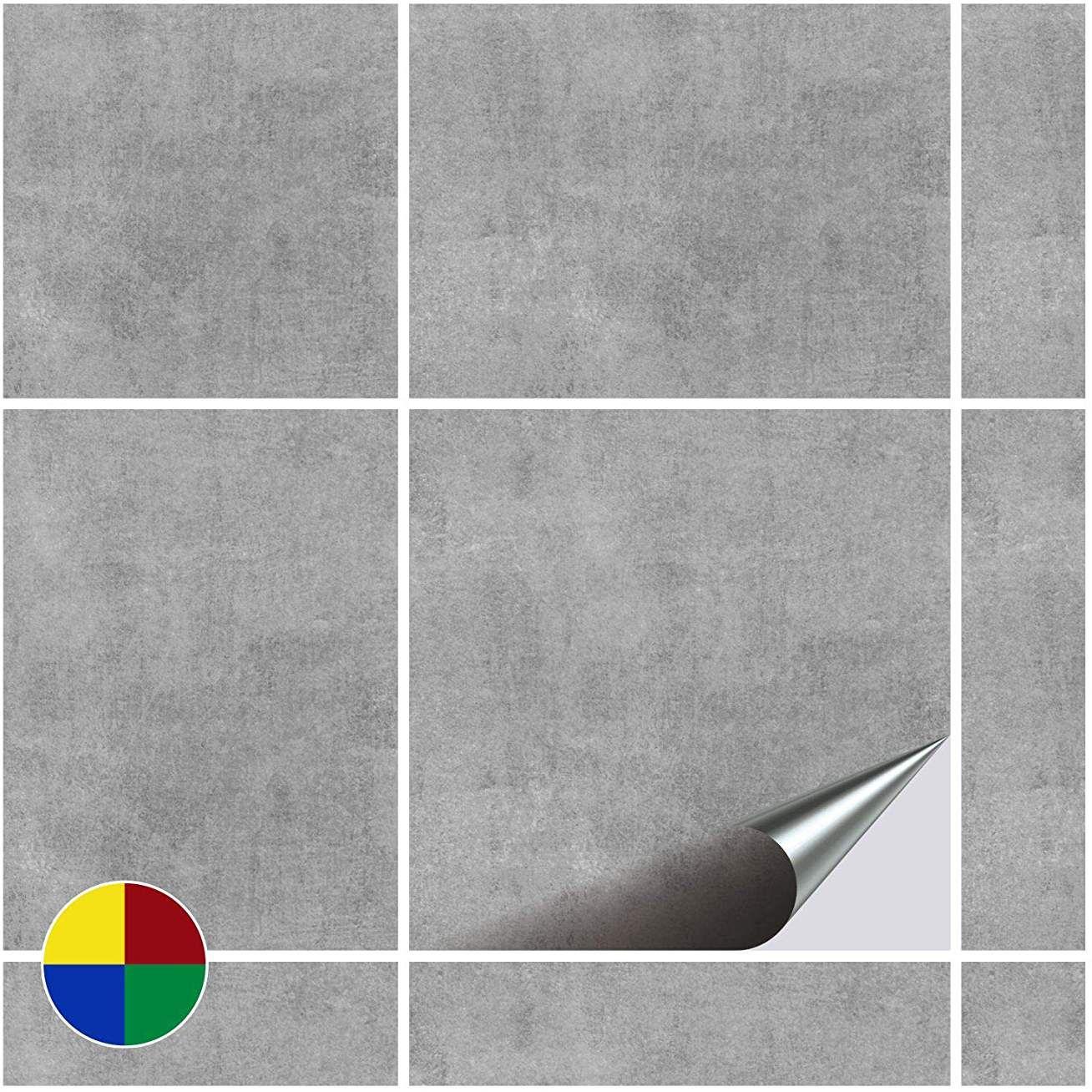 Foliesen 2245020 Stickers Carrelage 15x15 Cm Pvc Decor Greydi