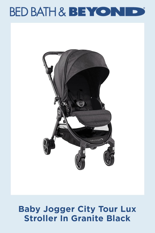 Baby Jogger City Tour Lux Stroller In Granite Black