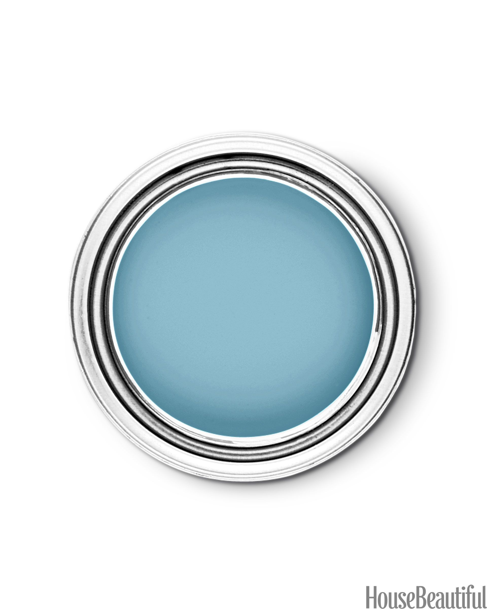 Behr Tropical Tide 520D-5, a beautiful turquoise blue that makes you feel as if you're in a warm, sunny place.