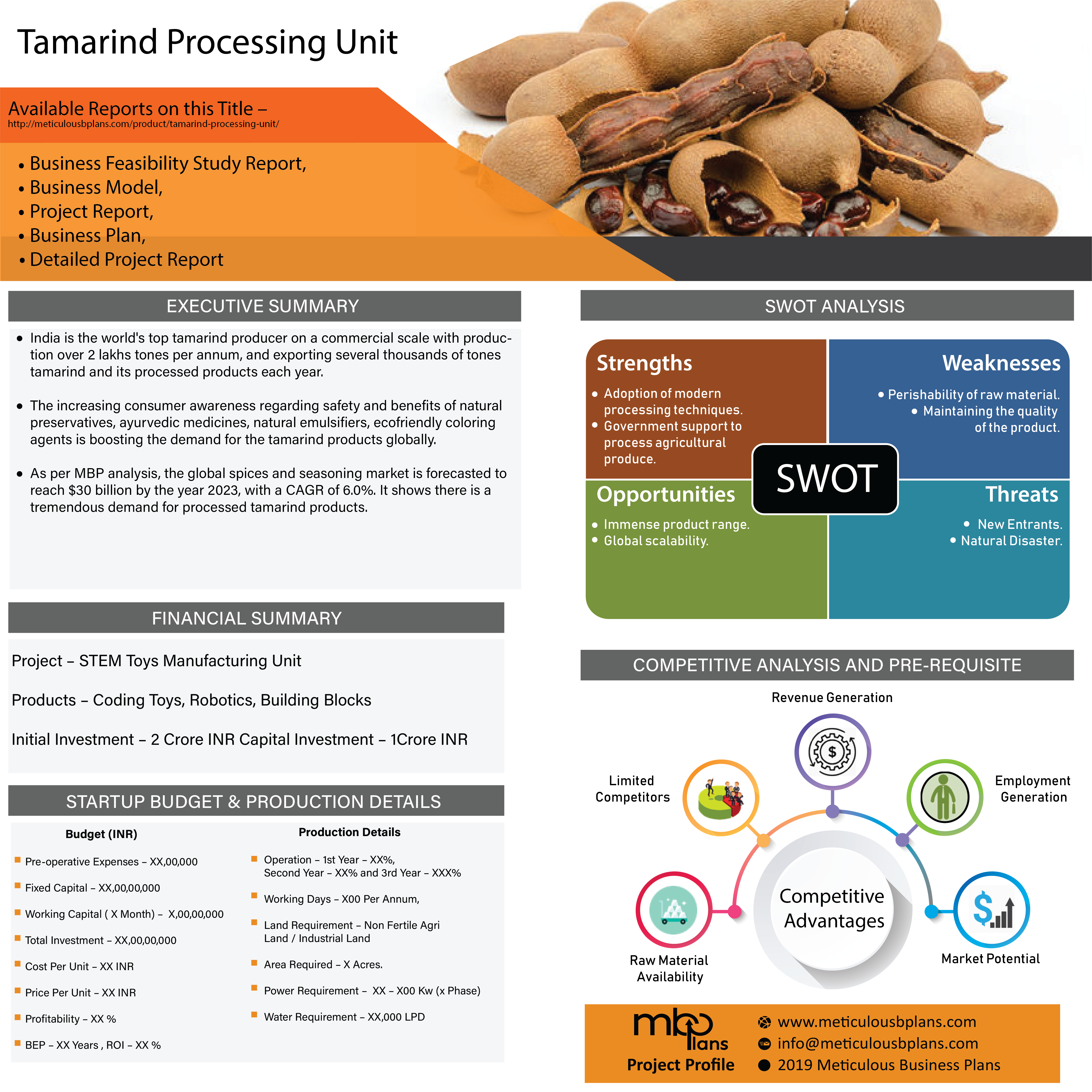 Tamarind Processing Unit Tamarind Natural Preservatives Process