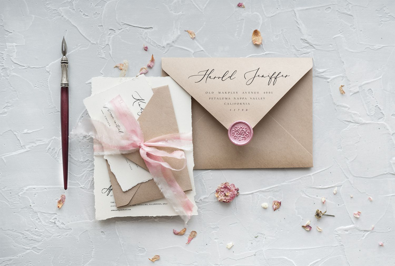 3 60 Sophisticated Custom Made Wedding Invitations For Your Fine Art This Elegant Invitation