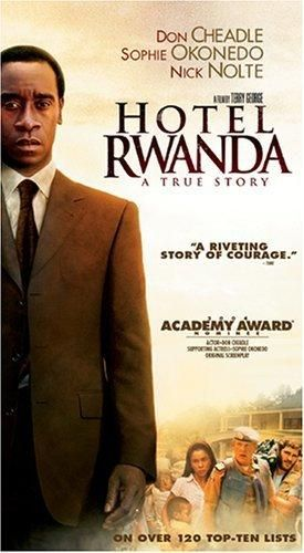 Hotel Rwanda 2004 This Is A Tough Movie To Watch In That We