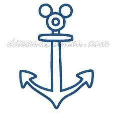 image relating to Mickey Anchor Printable known as Graphic final result for mickey anchor printable Disney Disney