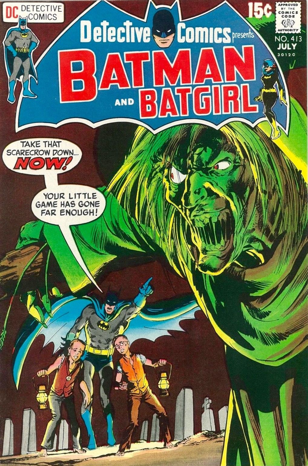 Detective comics 413 1971 cover art the dynamic neal