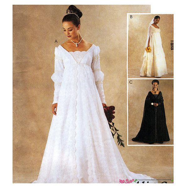 McCall\'s 3053 by Alicyn Exclusives Misses\' Renaissance Bridal Gowns ...