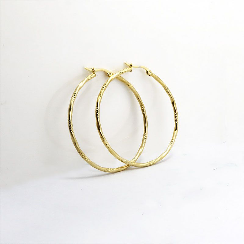 Find More Hoop Earrings Information about Hot selling Fashion Upscale Exquisite Golden Plated Engraving Round Loop Big Circle Hoop Earrings for Women Girls Jewelry,High Quality jewelry earring display,China jewelry earring holder Suppliers, Cheap jewelry women from LOVE ZM Jewelry on Aliexpress.com