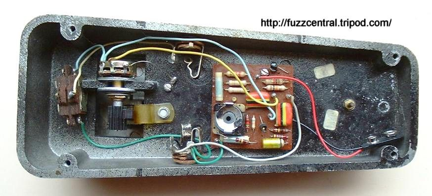 Vox Clyde Mccoy Circuitry The Vox Clyde Mccoy Wah Wah
