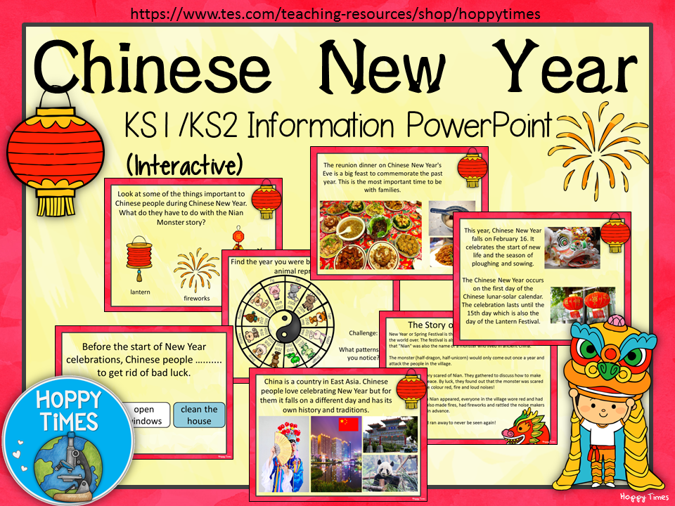 Chinese New Year 2018 lesson/ assembly | Primary resources and