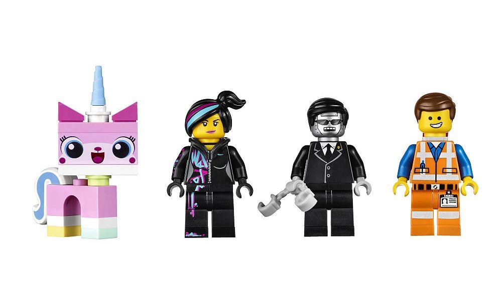 Lego Movie Executron Minifigure from Cloud Cuckoo Palace Set 70803 Mini Fig
