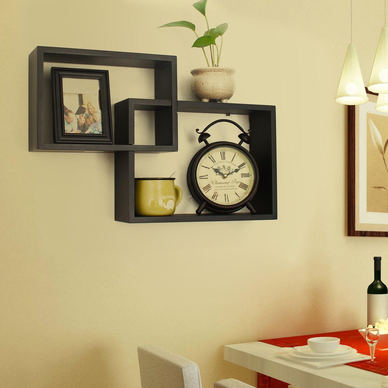 2 Piece Decorative Collage Wall Shelf Set | Decor | Pinterest ...