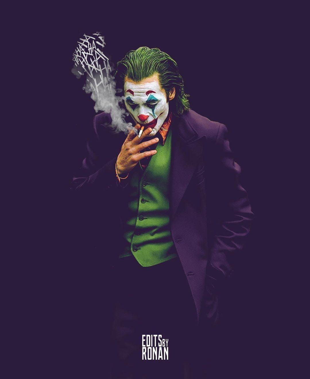 Looper En Instagram Increible Fan Art Joker De Editsbyronan In 2020 Joker Pics Joker Images Batman Joker Wallpaper